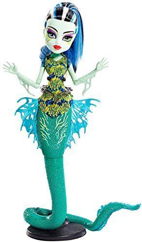Monster High Great Scarrier Reef Glowsome Ghoulfish Frankie Stein ...