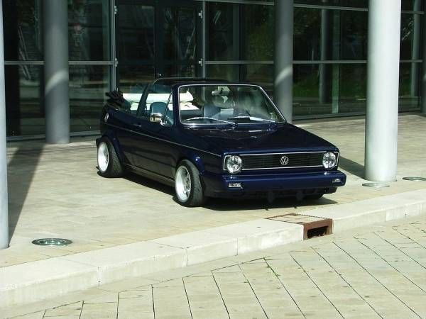 getunt vw golf 1 cabrio gti mk1 pinterest golf and golf 1. Black Bedroom Furniture Sets. Home Design Ideas