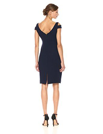 95e8ea8ed45 Adrianna Papell Women s Solid Crepe Empire Dress at Amazon Women s Clothing  store