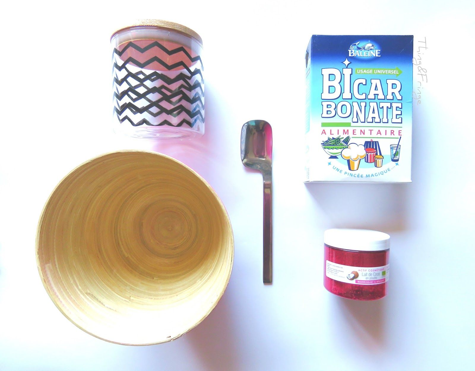 DIY Poudre de bain hydratante Coconut Milk .