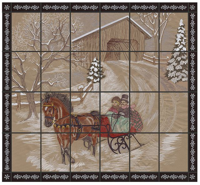 Dashing Through The Snow Horses Pinterest Embroidery