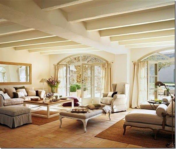 Case e interni casa campagna stile country spagna 1 for Interni casa campagna