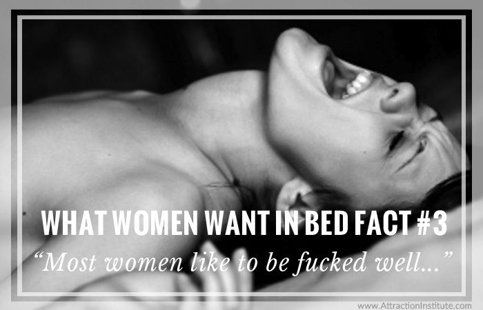 Women that want to be fucked