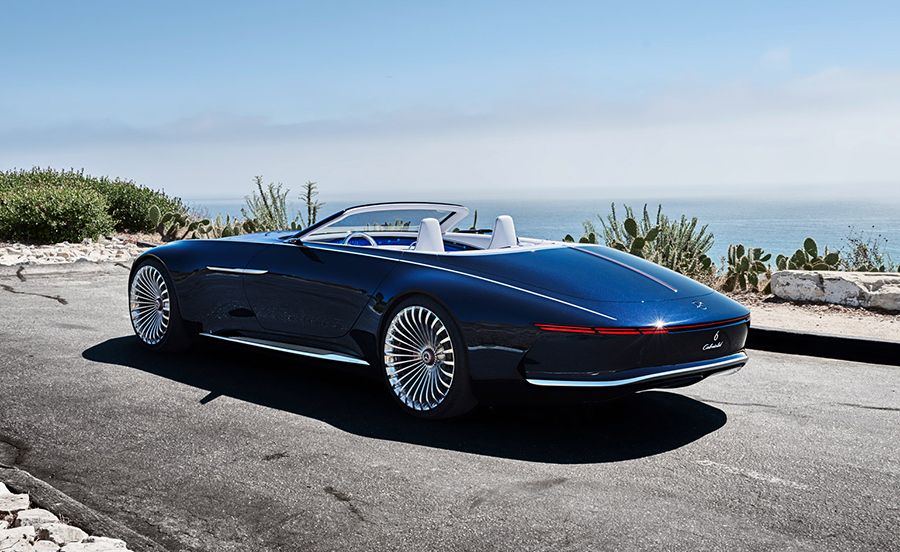 Mercedes Maybach Vision 6 Cabriolet Electric Super Luxury Concept
