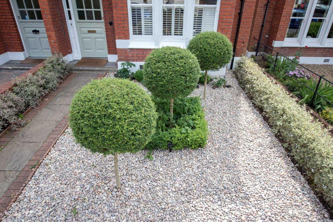 Front Garden Design in London by Kate Eyre | Интерьер