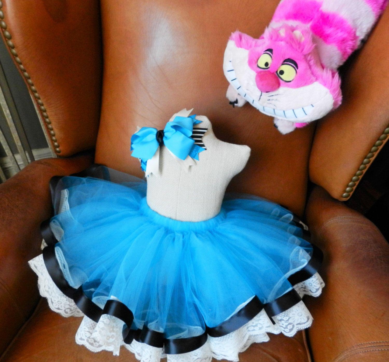 Blue Wonderland Tutu | Birthday dresses, Tea parties and Tutu
