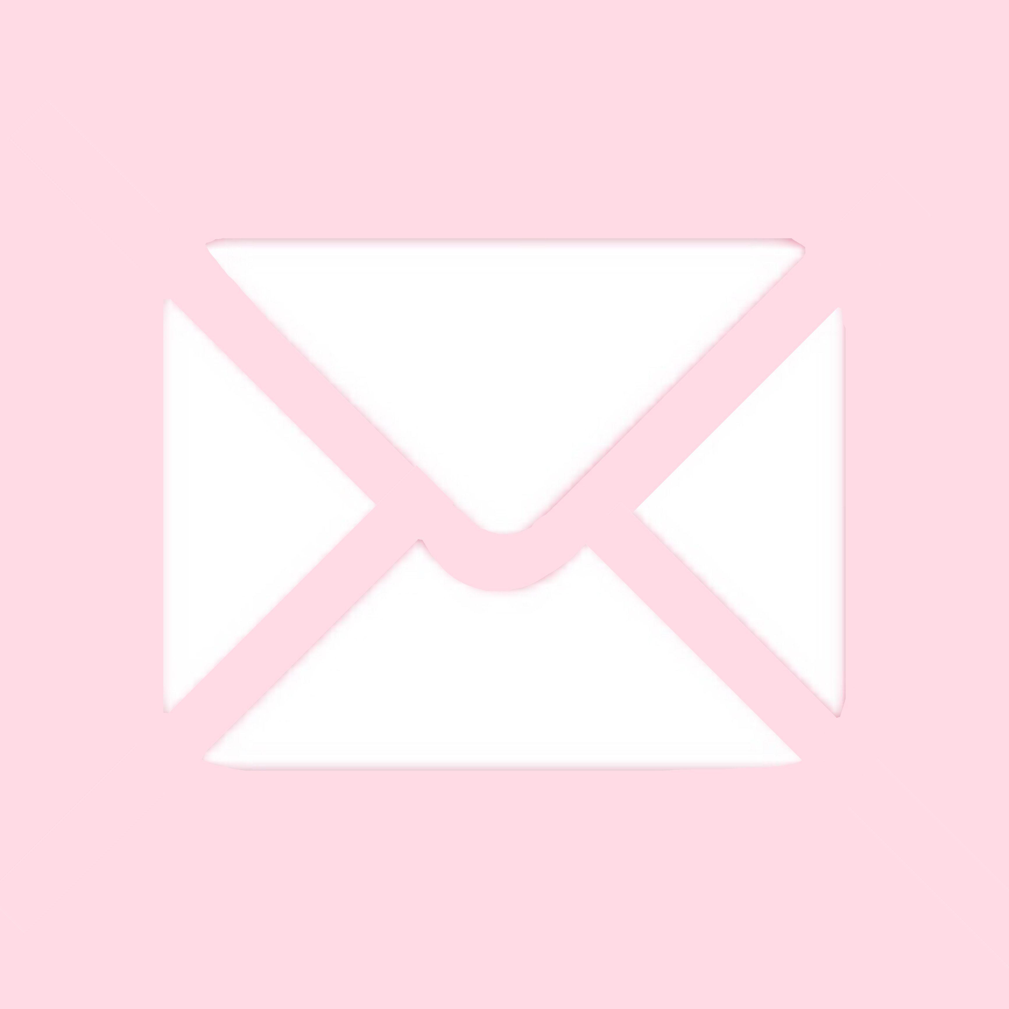 Email App Shortcut Aesthetic Pink Lightpink Pinkaethetic Mail In 2020 Iphone Wallpaper App Purple Wallpaper Iphone Pink Wallpaper Iphone