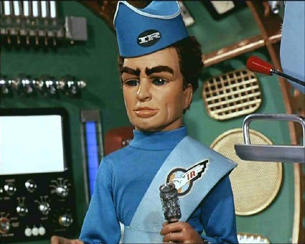 Pilot Of Thunderbird 1 Scott Tracy Christopher Eccleston
