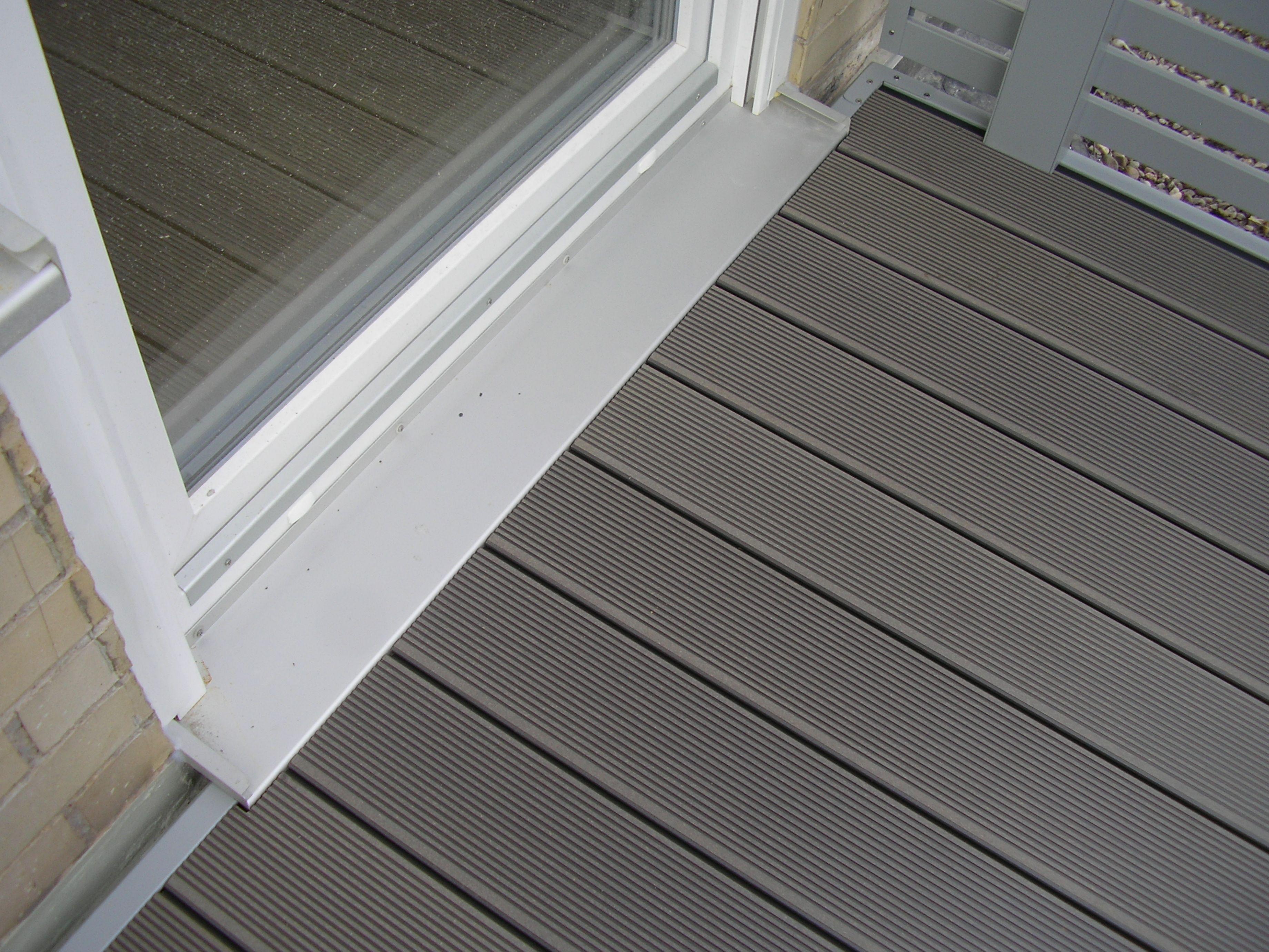 Fußboden Balkon Günstig ~ Wpc boden türausschnitt leeb balkonböden wpc boden boden und
