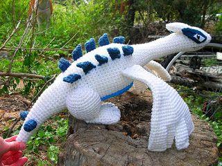 Häkelblog Verzeichnis Lugia Häkelanleitung Häckeln Crochet