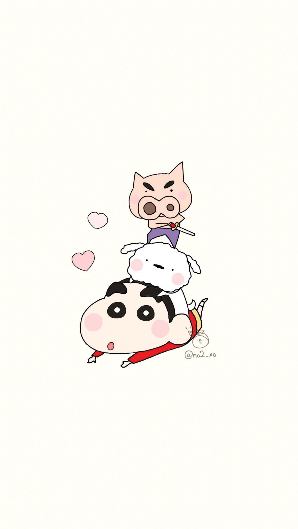 Pin by tunyanun y on shinchan in 2020 cute cartoon