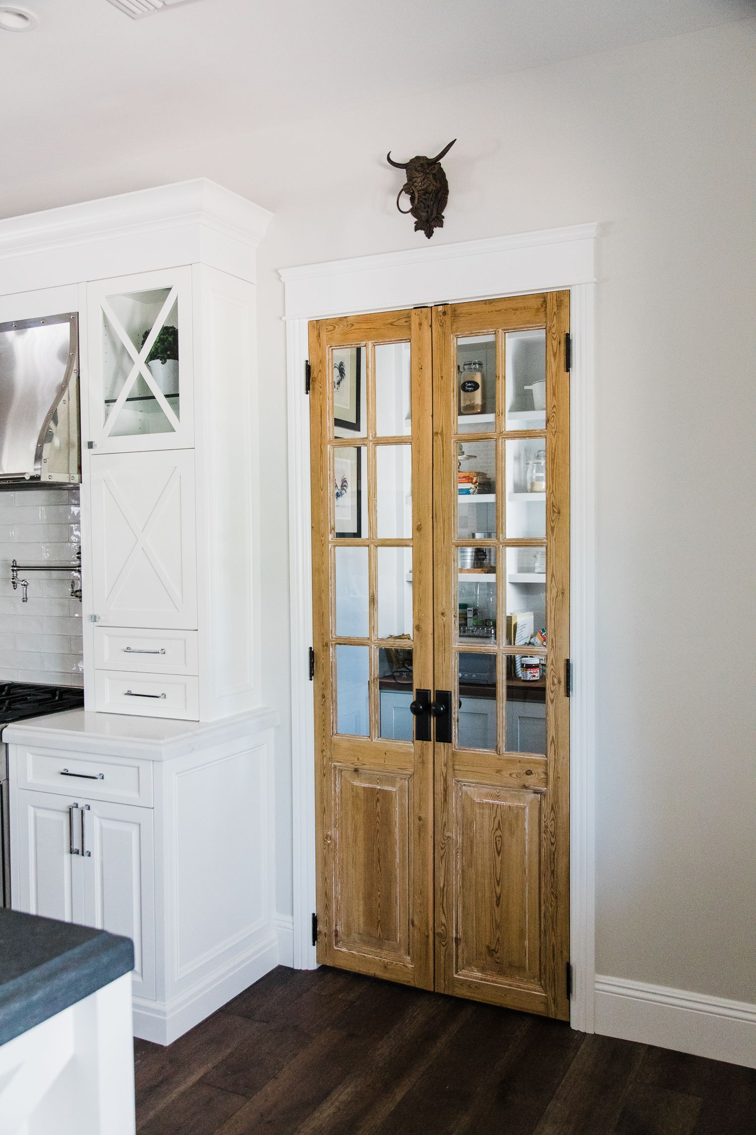 Custom Antique Pantry Doors By Rafterhouse French Doors Interior Pantry Design Home