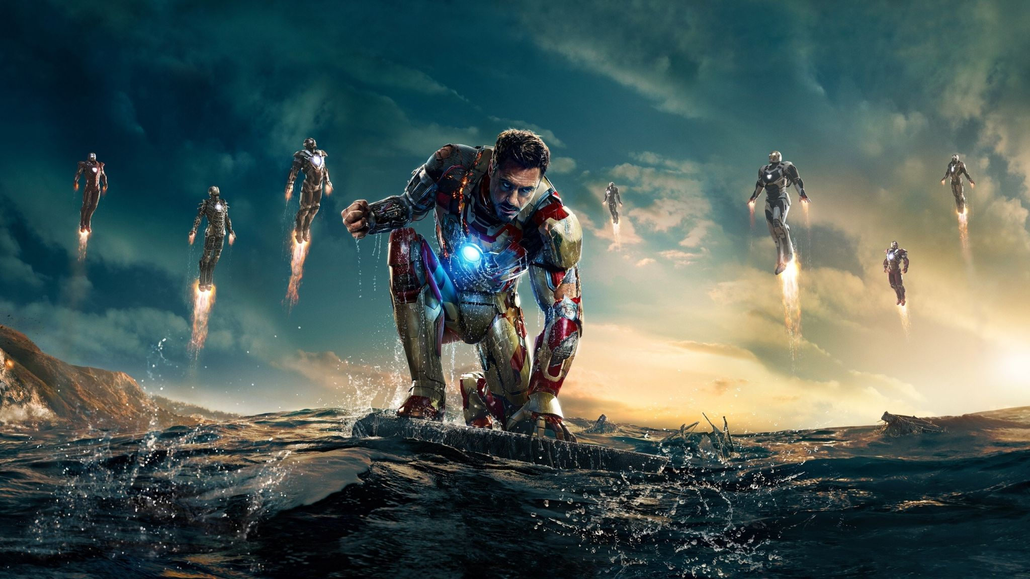 Iron Man Background Wallpaper For Computer Free