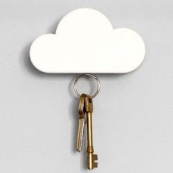 Cloud Key Holder - Suck UK - magnetic key holder