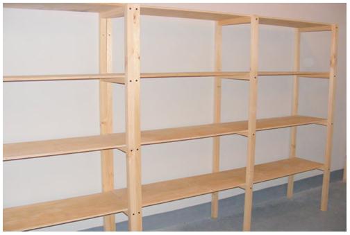 Resultado de imagen para como hacer estanterias de madera para