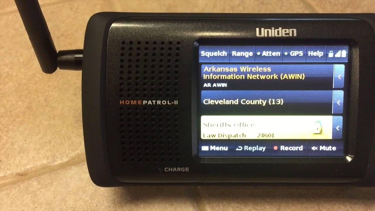 Review Uniden Homepatrol 2 Scanner Radio Scanners Emergency Radio Police Radio