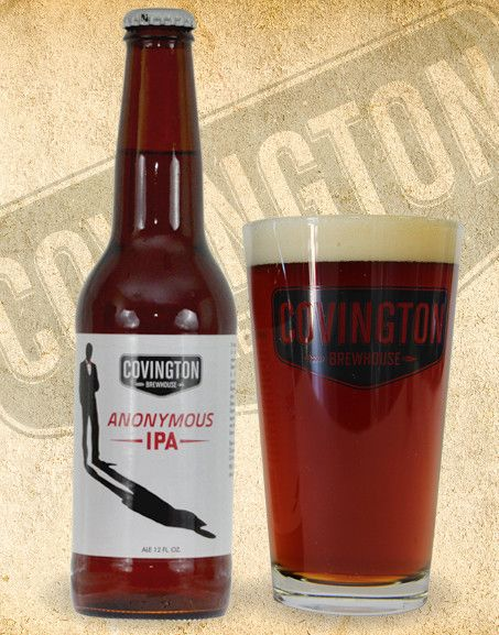 Covington Brewhouse Anonymouse IPA Craft Beer
