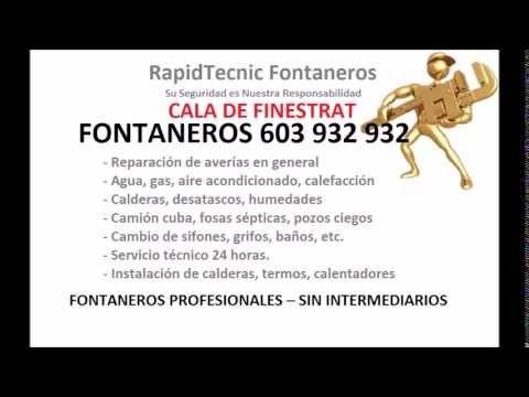 Fontaneros Cala De Finestrat 603 932 932 Plumbers Fosas Septicas Servicio Tecnico Fontaneria
