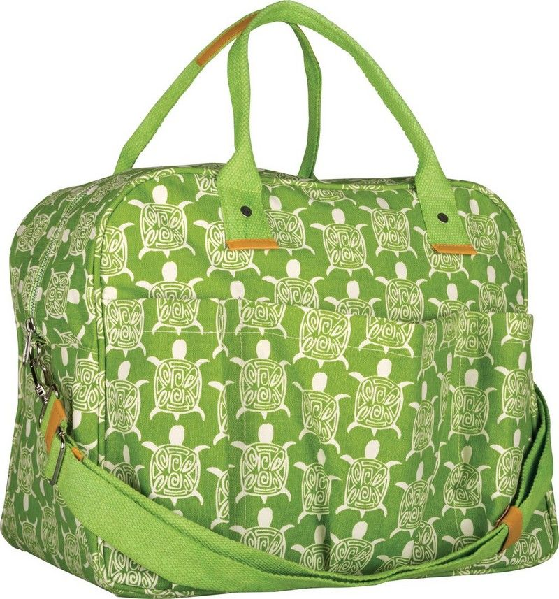 Rock Flower Paper Overnighter This Durable Cotton Canvas Bag