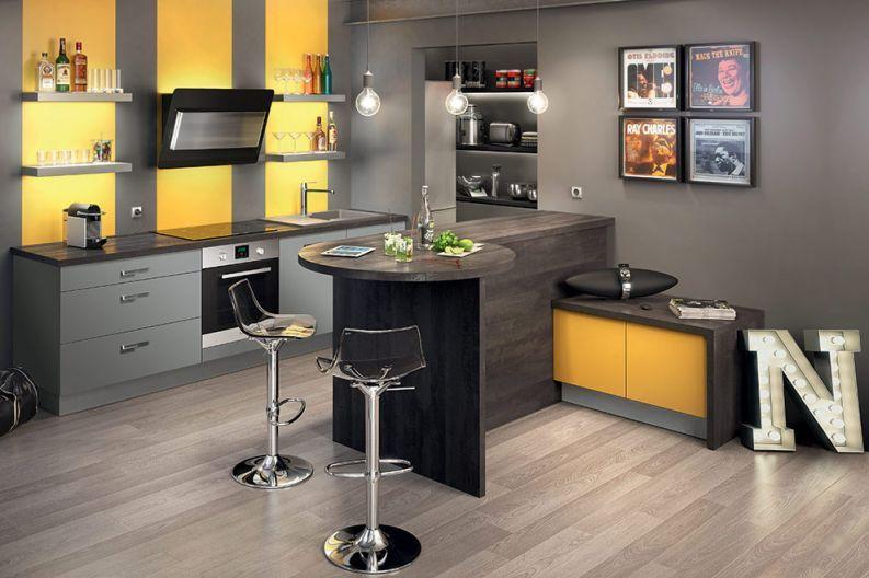 Découvrez notre cuisine équipée City Light #cuisines