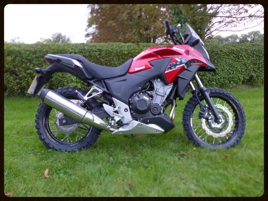 Honda CB500X By Rally Raid Products