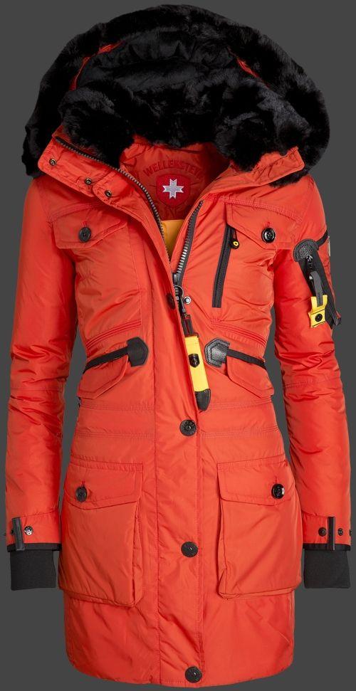 Wellensteyn Falcon Damen Rot Daunenjacke Unten | Jackets