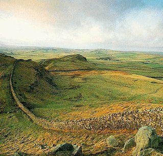 Hadrian's Wall, Northumbria, England