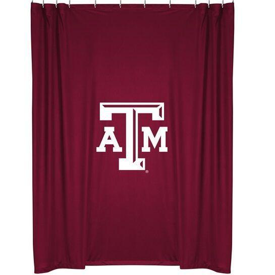 Texas A M Aggies Shower Curtain Wall Banner Curtains Kohls