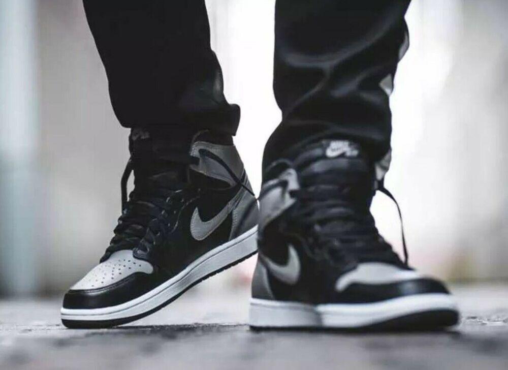 Nike Air Jordan 1 Retro High Og Shadow Sz 14 Mns 15 5 Wmns 555088 013 Shoes Kicks Fashion Nike Air Jordans Jordan 1 Shadow