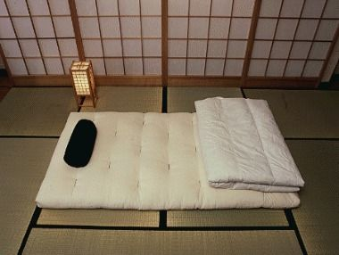A Futon Is Traditional Japanese Bedding Consisting Of Mattress That Laid On Top Tatami Mat And Used For Sleeping