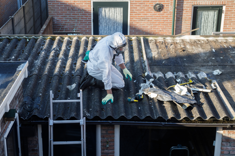 Asbestos Removal Companies Make Use Of Different Methods Asbestos Removal Removal Company Corrugated Roofing