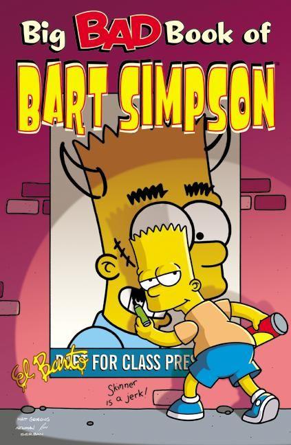 Big Bad Book Of Bart Simpson Bart Simpson Simpson The Simpsons