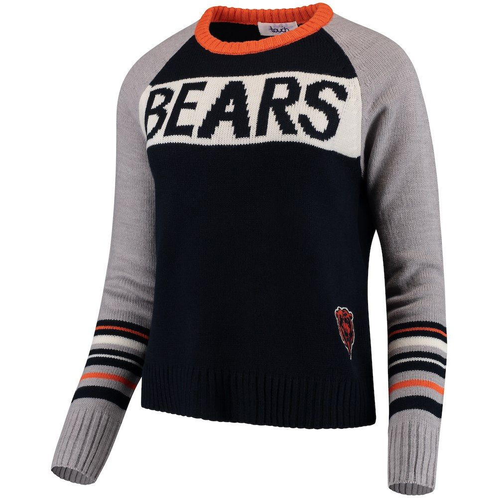 4e112da44 Chicago Bears Women s Team Spirit Pullover Sweater by Touch by Alyssa Milano   ChicagoBears  DaBears