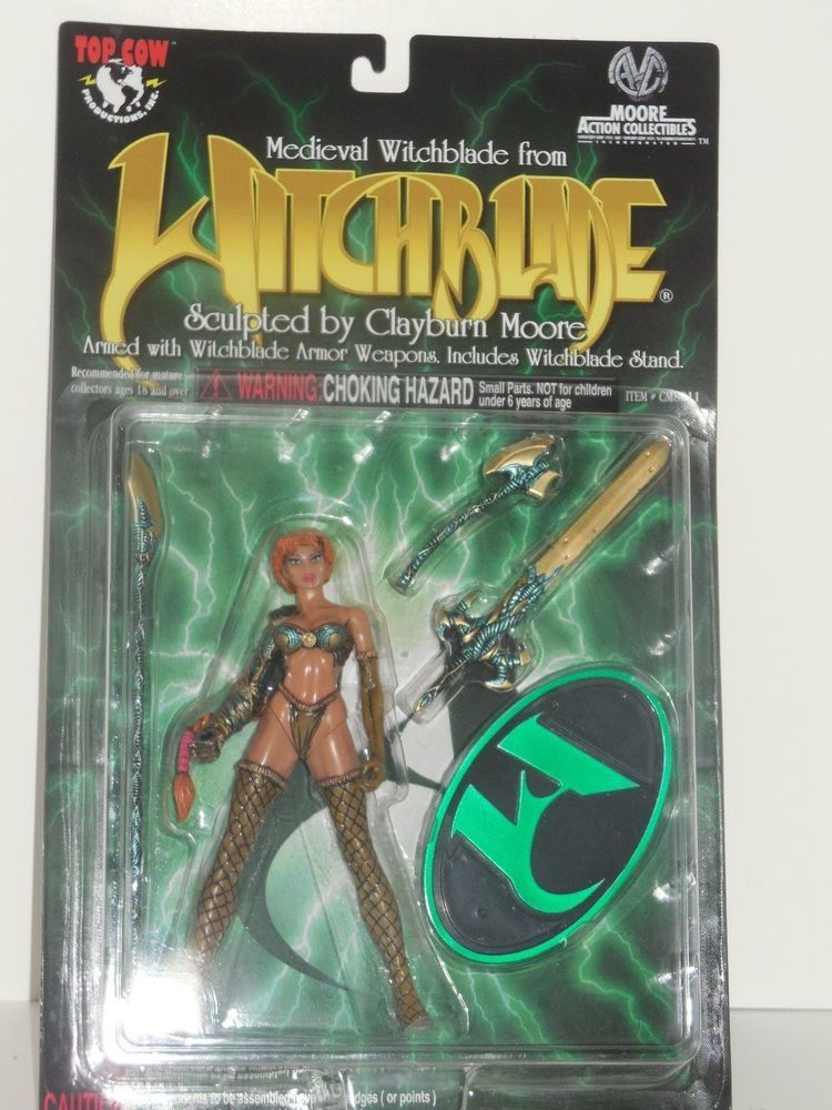 Medieval Witchblade action figure New! Moore Action Collectibles