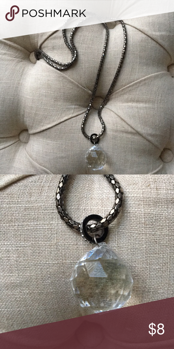 Xhilaration Long Statement Necklace Good condition From petfree