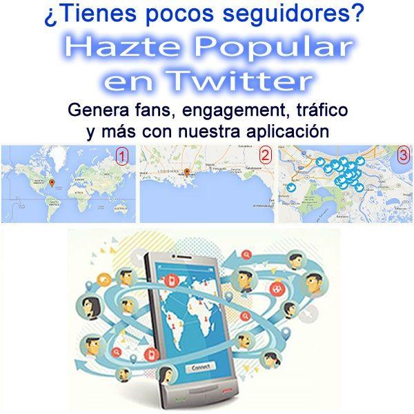 Te ayudamos a ganar popularidad en Twitter