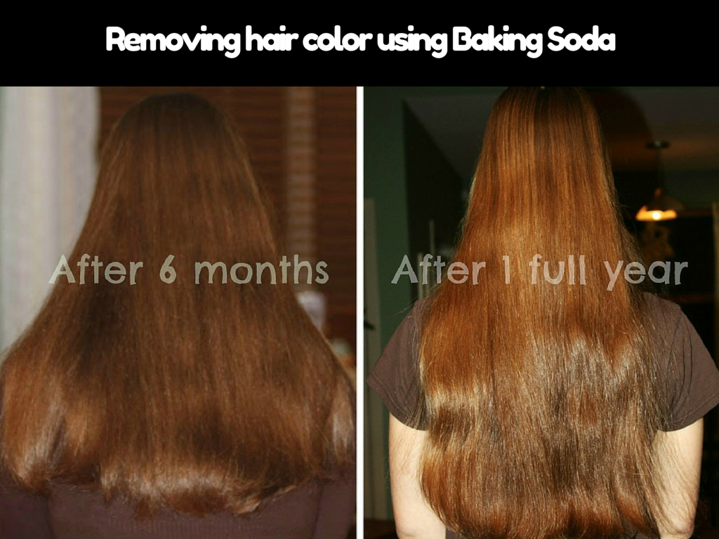 Removing Hair Color Using Baking Soda Stuffskeleton Com Baking Soda For Hair Baking Soda Shampoo Washing Hair