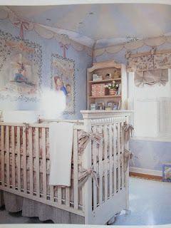Sweet baby Talia's nursery
