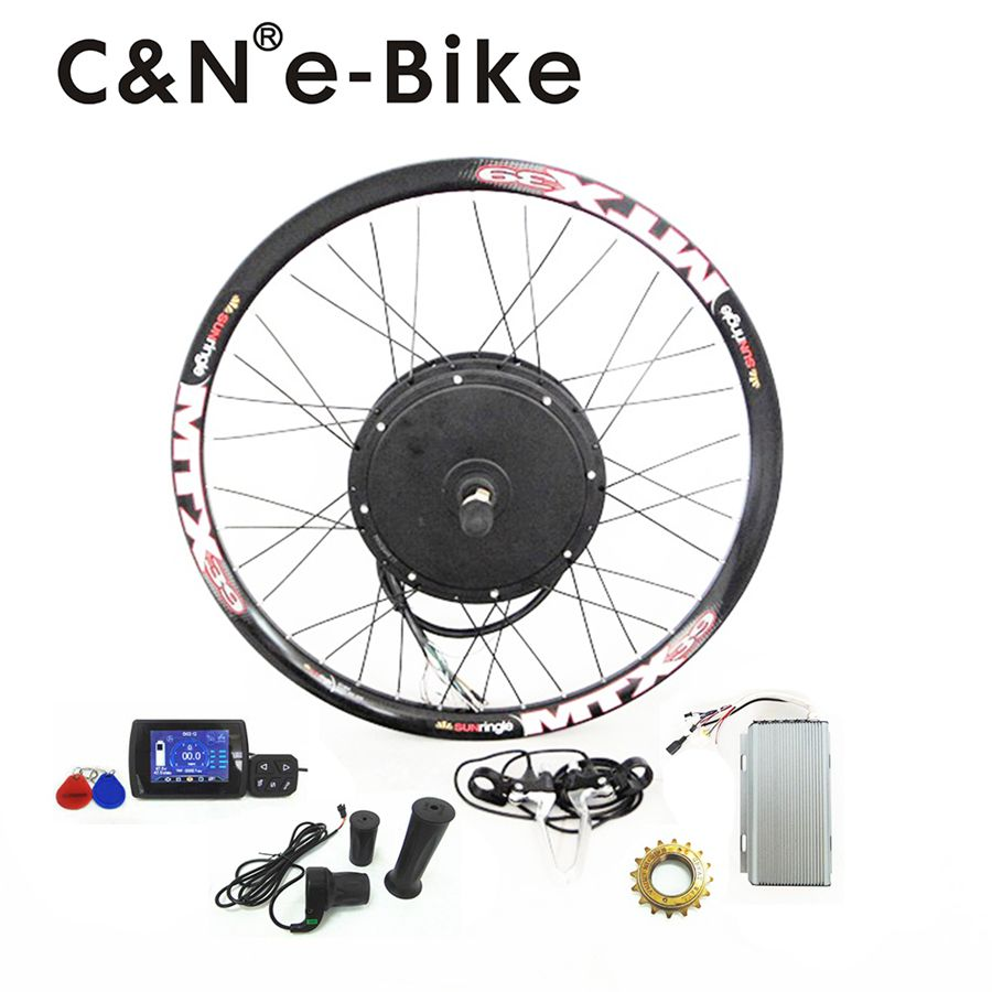 6bbc62aca3e High Speed 72v 3000w Electric Motorcycle Kit 3kw Electric bike conversion  kit with TFT Display