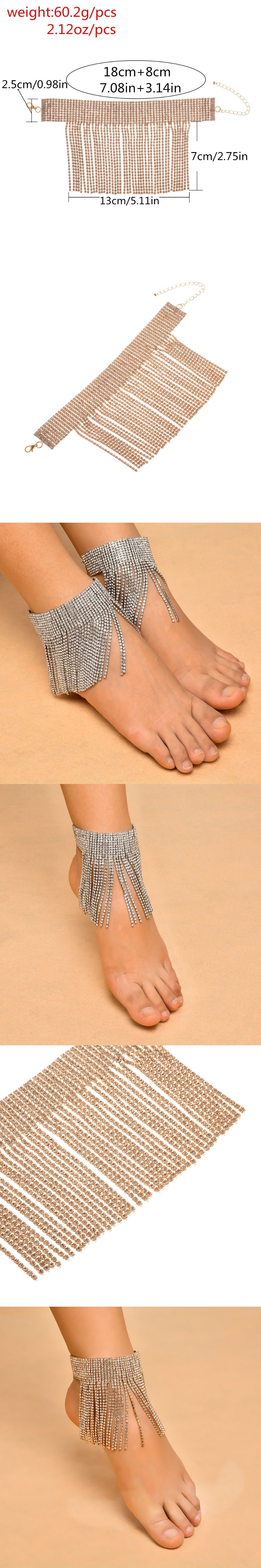 oblacoder for india pink anklets indian women woman studded elegant online rhinestone anklet silver