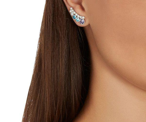 LOVE. Eglantine Earlobe Pierced Earrings from #Swarovski ...