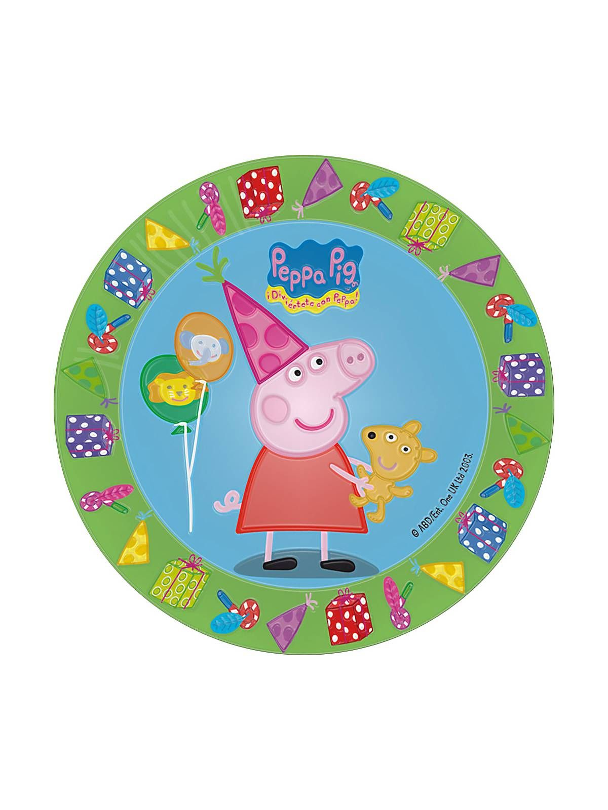 Bargain Party Decorations Peppa Pig 7 Cake Plates Bargain Themed Tableware Decorations