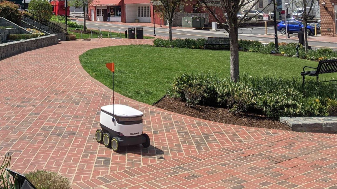 These delivery robots make it easier to do contactfree