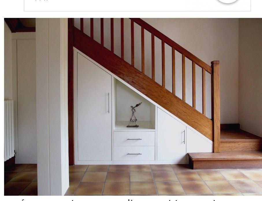 Épinglé par Miandrhy sur Maison (avec images) | Meuble sous escalier, Placard sous escalier ...