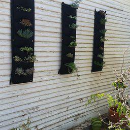 Amazon.com : Prudance® Vertical Wall Garden Planter, 7 Pockets, Wall Mount Planter Solution : Patio, Lawn & Garden