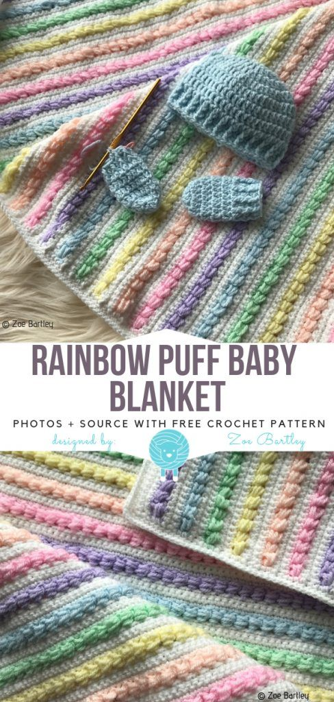 Puffy Baby Blankets Free Crochet Patterns #c2cbabyblanket