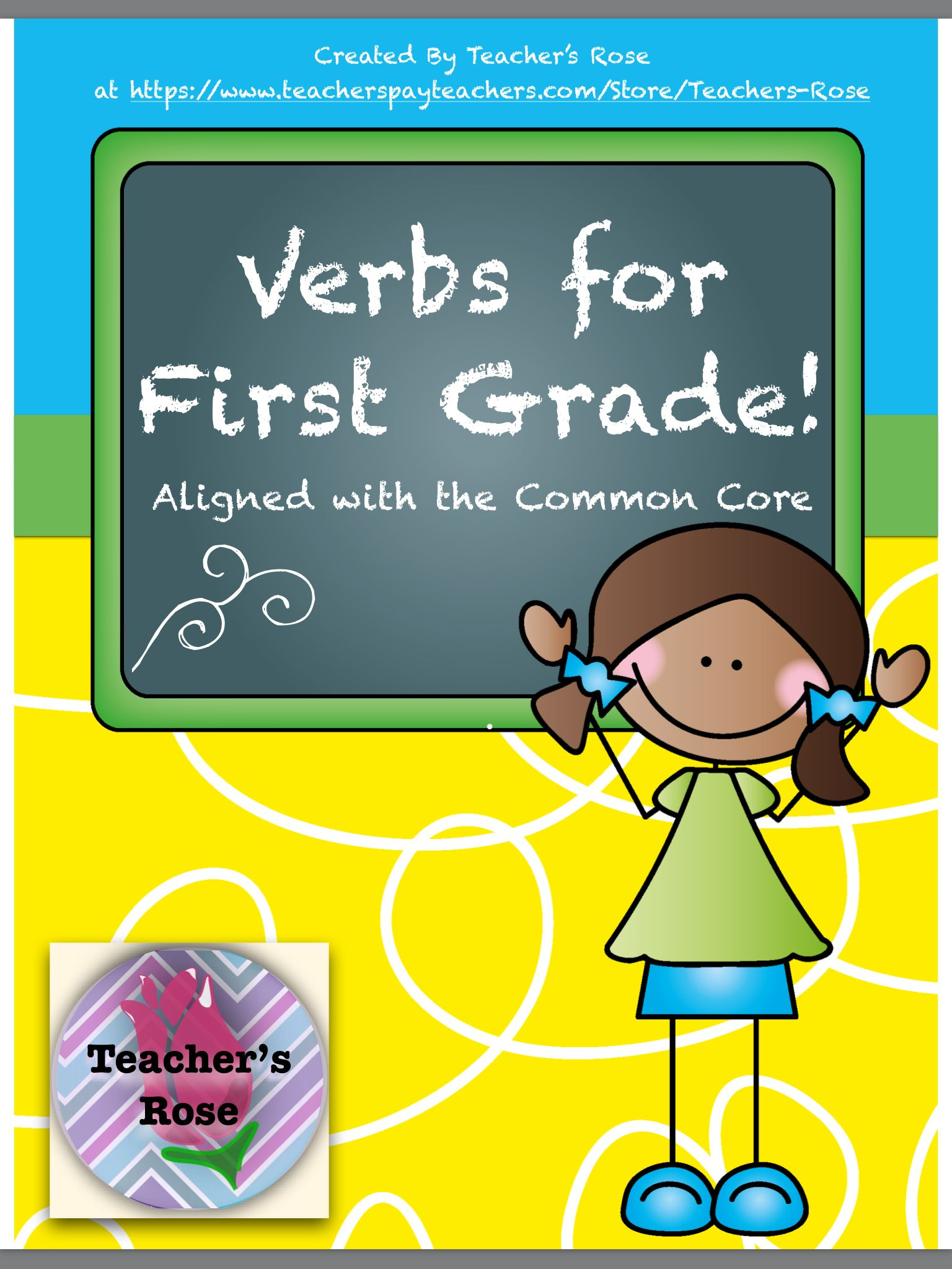 Verbs For First Grade
