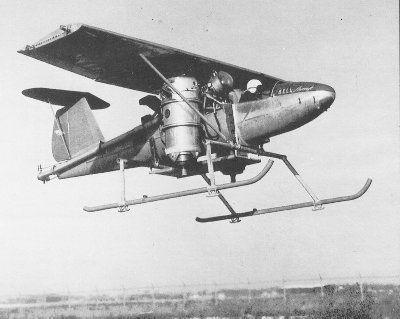 Bell 65 Air Test Vehicle VTOL