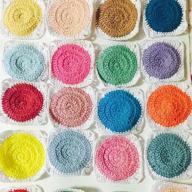 연결할아이들#레트로써클#코바늘#손뜨개#모티브블랭킷#핸드메이드#retrocirclesblanket #crochet#handmade #knniting #knnitinglove
