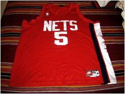 wholesale dealer b1af7 f5cbf New Jersey Nets - Jason Kidd | Camisetas | Nike retro, Nike ...